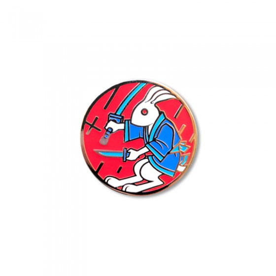 Pin Gachirin (Red)